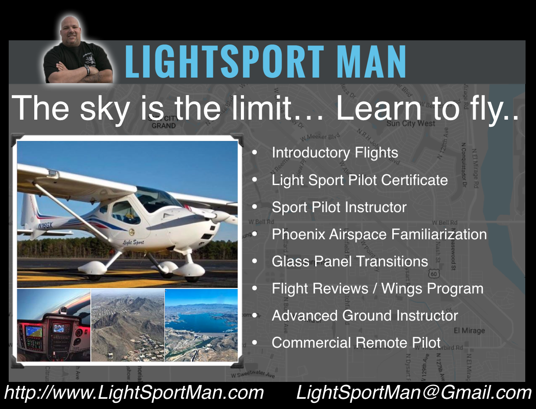 Best Time Of Year Learn To Fly Lightsport Man