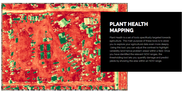 WHAT IS PLANT HEALTH DRONE / UAV MAPPING